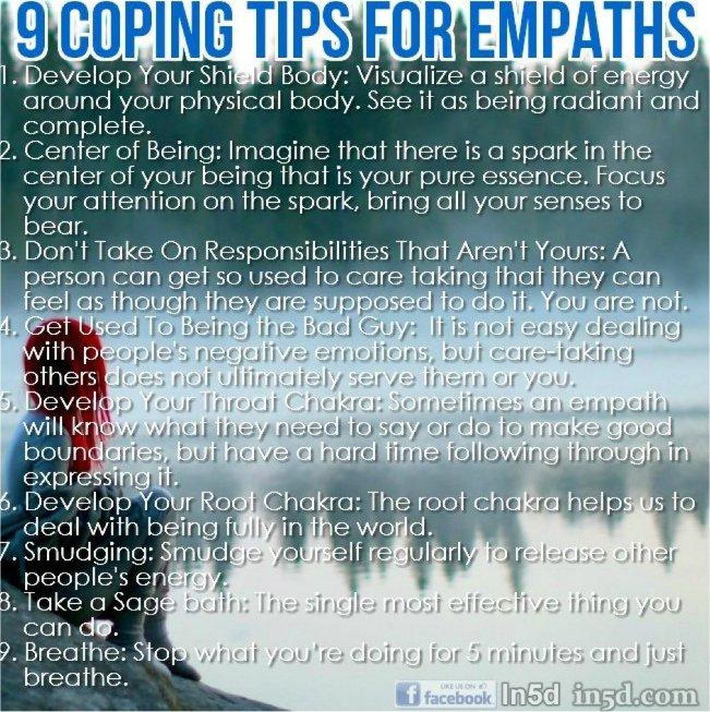 Empathic Stress Symptoms