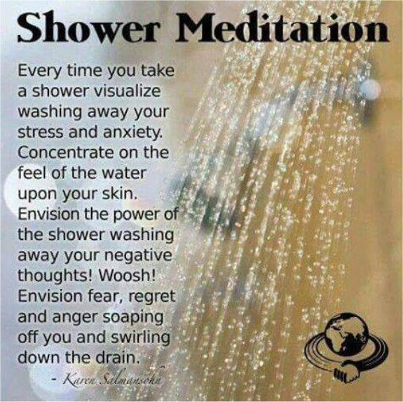 A Quick And Simple Shower Meditation!